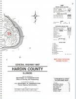Map Image 024, Pope and Hardin Counties 1991